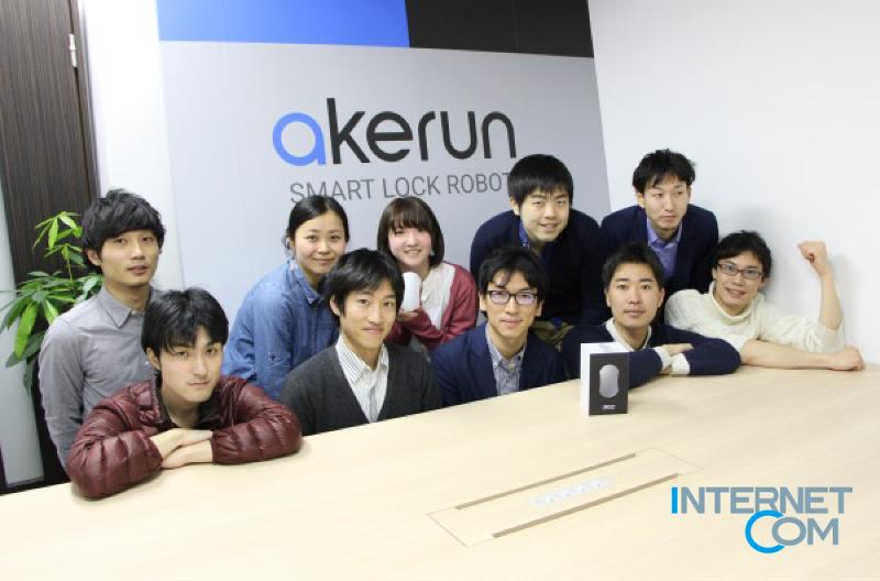 「スマートロックロボット-Akerun」internetcom